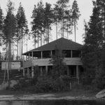 Tanssilava järveltä päin, 1956.